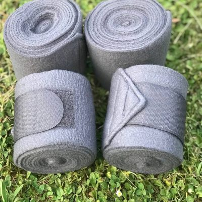 Valleyhorsewear Grey Fleece Bandages